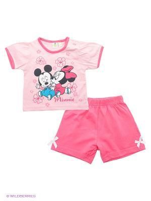 Комплект Disney. Цвет: розовый, фуксия