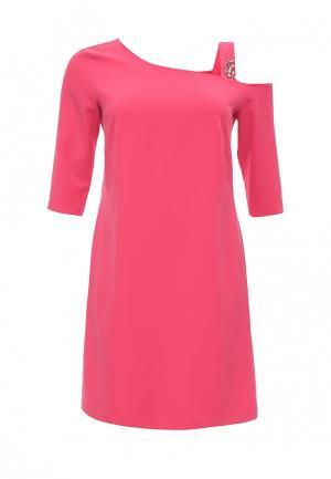 Платье Contraposto. Цвет: розовый