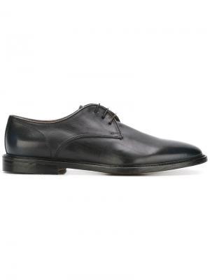 Classic derby shoes Doucals Doucal's. Цвет: синий