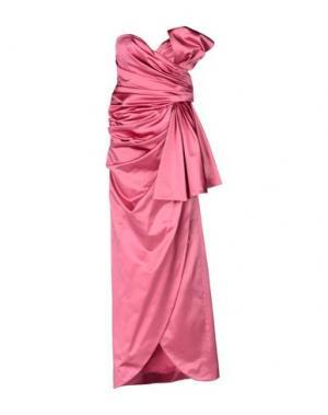 Длинное платье MOSCHINO. Цвет: светло-фиолетовый