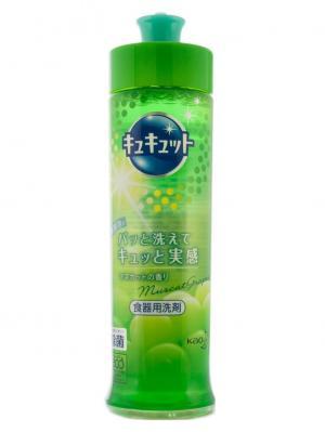 Cu Cut Моющее средство для посуды с ароматом муската 240 мл*2 шт KAO. Цвет: зеленый