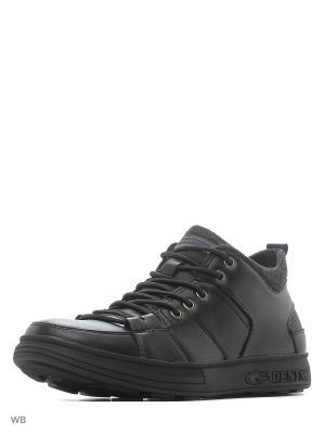 Ботинки M25. Цвет: черный