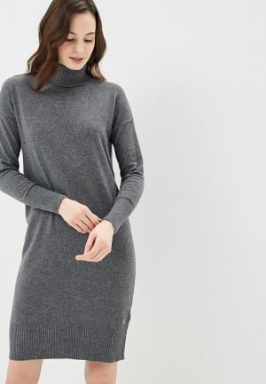 Платье Rifle. Цвет: серый