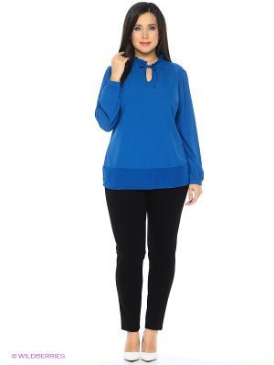 Блузка Modis. Цвет: синий