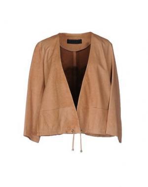 Куртка ENES. Цвет: верблюжий