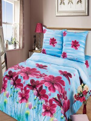 Комплект постельного белья Арт Постель. Цвет: голубой