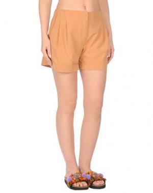 Пляжные брюки и шорты TWIN-SET Simona Barbieri. Цвет: верблюжий