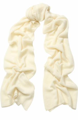 Кашемировый шарф TSUM Collection. Цвет: белый