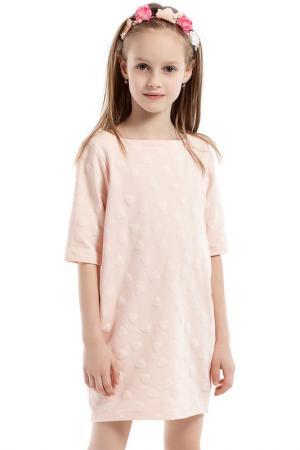Платье KIDIN. Цвет: розовый