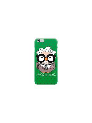 Чехол для iPhone 6/6S Альберт Эйнштейн Goofi. Цвет: зеленый