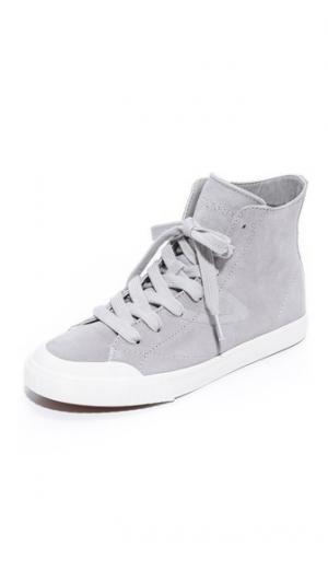 Кроссовки с высоким берцем Marley Tretorn. Цвет: светло-серый/светло-серый