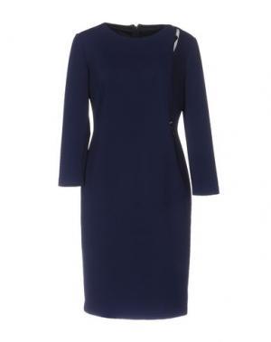 Короткое платье SUPERIOR. Цвет: темно-синий