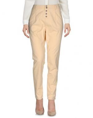 Повседневные брюки TIMEOUT. Цвет: песочный