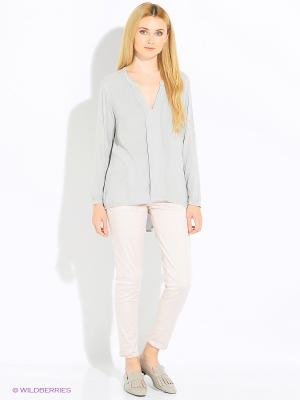 Блуза Rosa&Friends. Цвет: серый