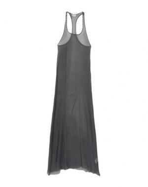 Длинное платье CYCLE. Цвет: свинцово-серый