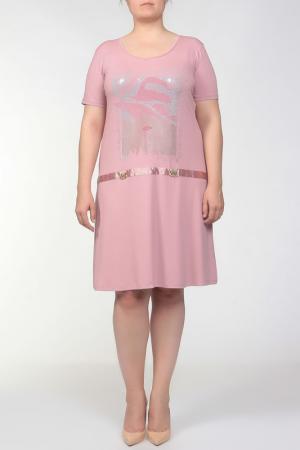 Платье Darkwin. Цвет: пудренный