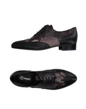 Обувь на шнурках BAGATT. Цвет: стальной серый