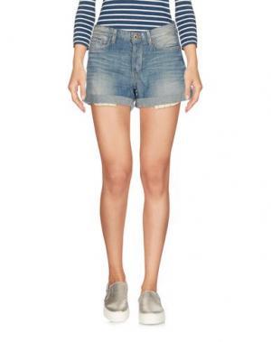 Джинсовые шорты TWENTY8TWELVE. Цвет: синий
