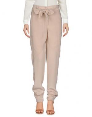 Повседневные брюки BUI de BARBARA. Цвет: бежевый