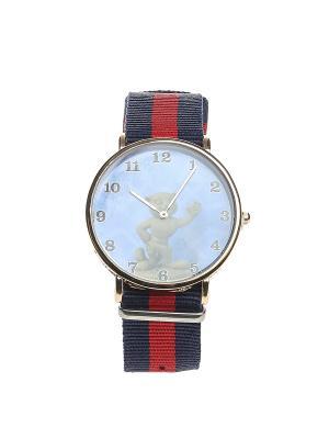 Часы Migura. Цвет: синий, красный, золотистый