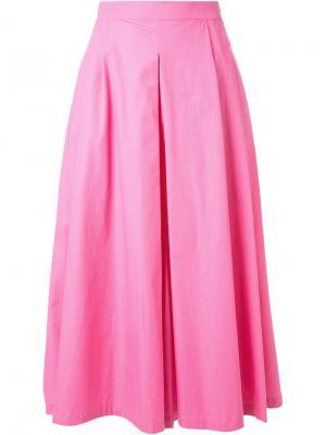 Пышная юбка IM Isola Marras I'M. Цвет: розовый и фиолетовый