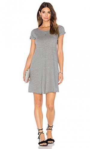 Платье jilpow American Vintage. Цвет: серый