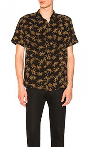 Рубашка bon ROLLAS ROLLA'S. Цвет: черный