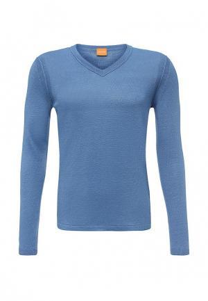 Пуловер Boss Orange. Цвет: голубой