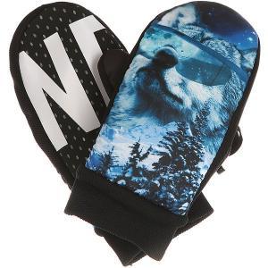 Варежки сноубордические  Character Mitt Howler Neff. Цвет: черный,синий