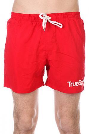 Шорты пляжные  Swimming Shorts Splash One Red TrueSpin. Цвет: бежевый,оранжевый