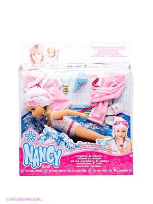Кукла Нэнси - Чемпионка Famosa. Цвет: бежевый, розовый