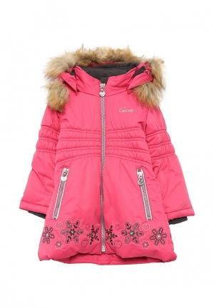 Куртка утепленная Gusti. Цвет: розовый