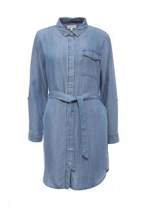 Платье джинсовое Warehouse. Цвет: синий