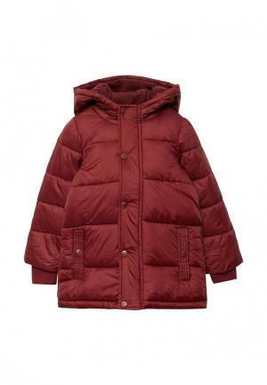 Куртка утепленная Piazza Italia. Цвет: бордовый