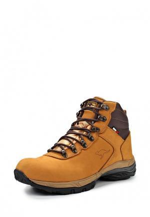 Ботинки KangaROOS. Цвет: оранжевый