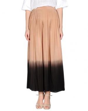 Длинная юбка W DABLIU. Цвет: песочный