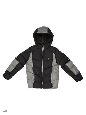 Куртка FILA. Цвет: черный