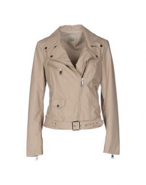 Куртка JIJIL. Цвет: голубиный серый