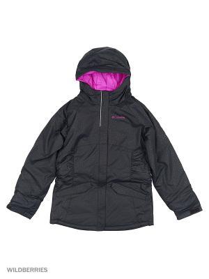 Куртки Columbia. Цвет: черный