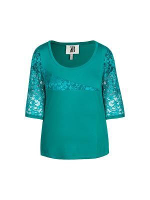 Блузка KR. Цвет: зеленый