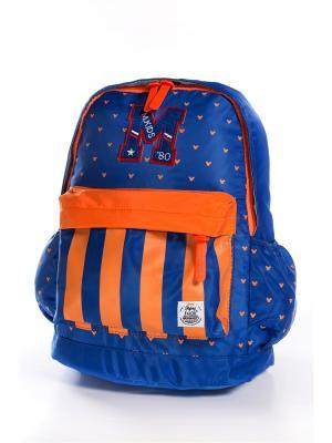 Рюкзак Vittorio Richi. Цвет: синий, оранжевый