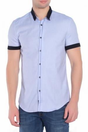 Рубашка Bikkembergs. Цвет: blue navy