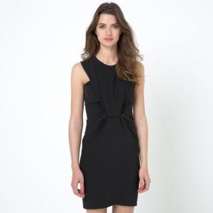 Платье без рукавов BY ZOE. Цвет: черный