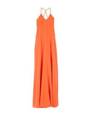 Длинное платье ELLA LUNA. Цвет: оранжевый
