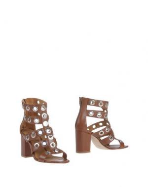 Полусапоги и высокие ботинки ANNA F.. Цвет: коричневый