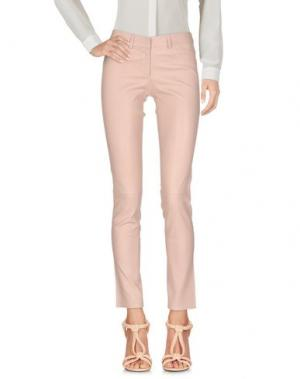 Повседневные брюки ENES. Цвет: розовый