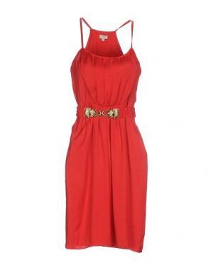 Короткое платье INTROPIA. Цвет: красный