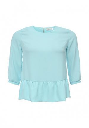 Блуза Intikoma. Цвет: бирюзовый