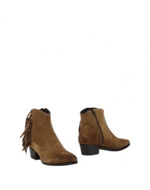 Полусапоги и высокие ботинки GEORGE J. LOVE. Цвет: хаки