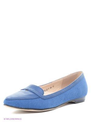 Балетки Bagira. Цвет: синий
